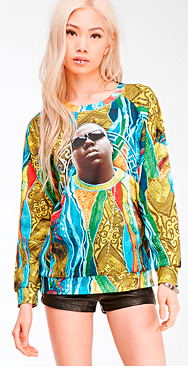 biggie knock off F21c